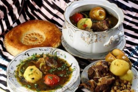 ШУРПА - ароматный суп из крупно порезанных овощей и мяса