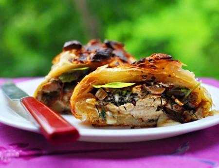 Кулинарный рецепт, Курица Веллингтон