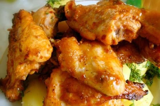 Кулинарный рецепт, Курица