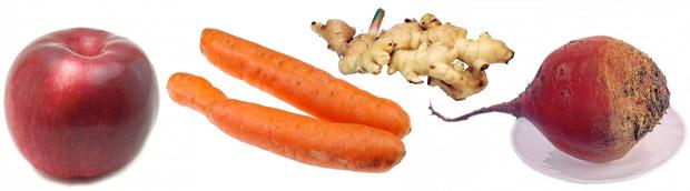 1821 Коктейль из свеклы, моркови и яблока: самый полезный из рецептов!
