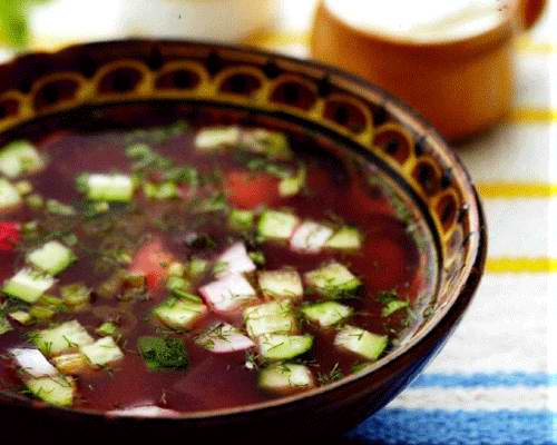 Суп холодный