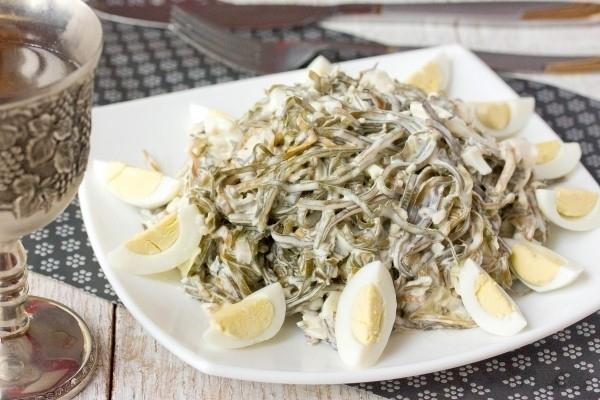Морская капуста: рецепты на любой вкус