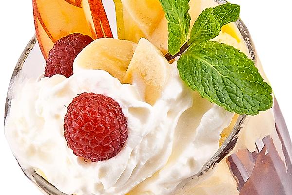 Десерт мороженое с фруктами - Recepty-kulinariya ru