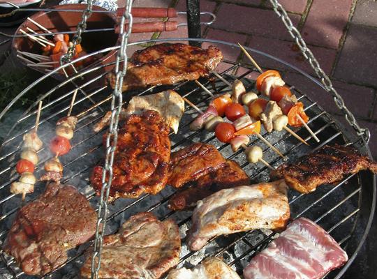 Правила строительства барбекю