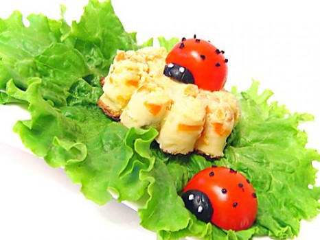 Красивая еда из ЯИЦ