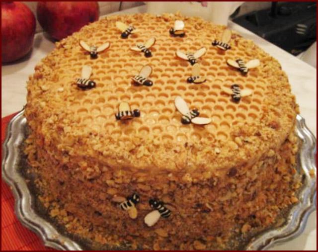 Начинка к торту медовик