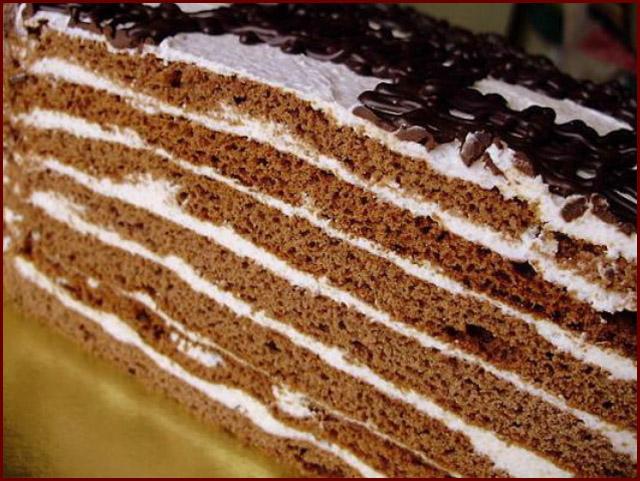 Шоколадный медовик рецепт с