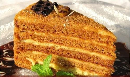 настоящий торт сметанник рецепт