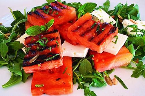 Необычные рецепты из арбуза