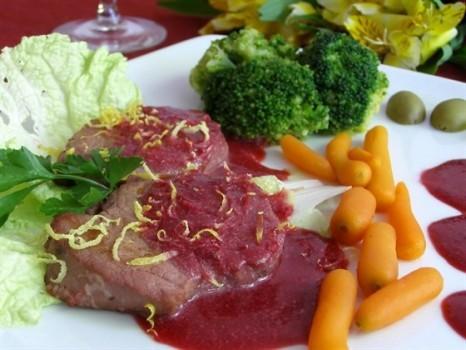 Блюда с добавлением красного вина