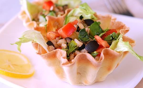 Тарталетки - красивая и вкусная подача закусок и десерта