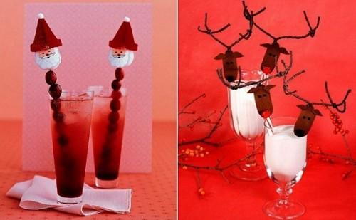 Креативные идеи для оформления новогоднего стола