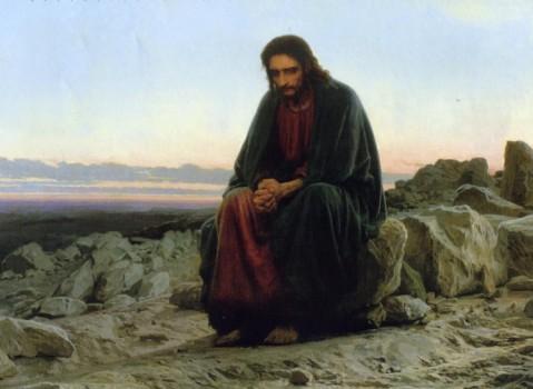 Ииисус в пустыне