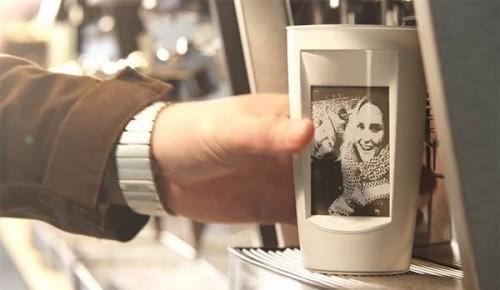 Muki – кофейная чашка, которая может принимать сообщения