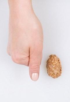 Сливочное масло - кончик большого пальца