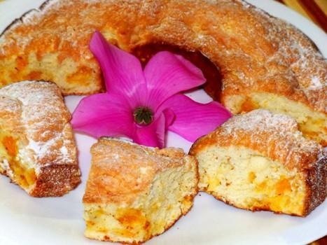 Пасхальный кекс с мандаринами