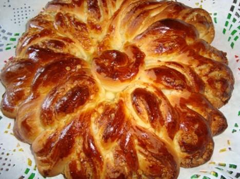 Пирог «Бабушкина салфетка» с абрикосовым джемом