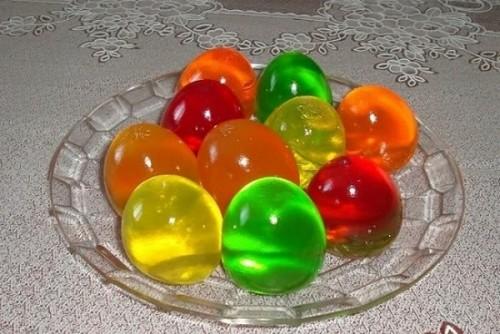 яйца желе
