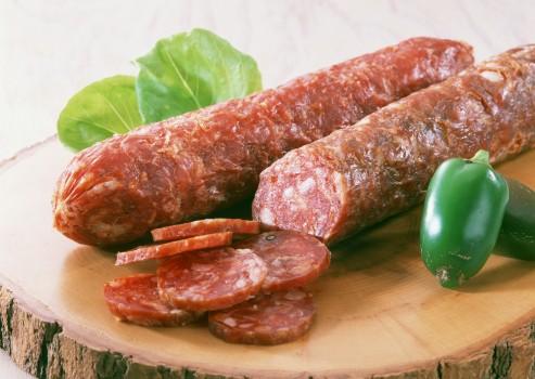 сырокопчённая колбаса