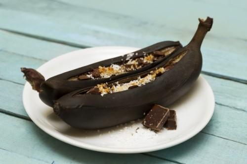 Банановые лодочки