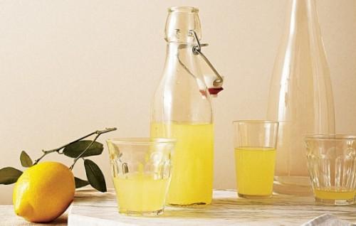 Напитки креплённые на лимоне