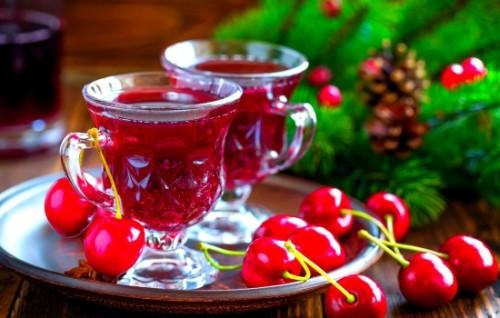 Напитки креплённые из вишни