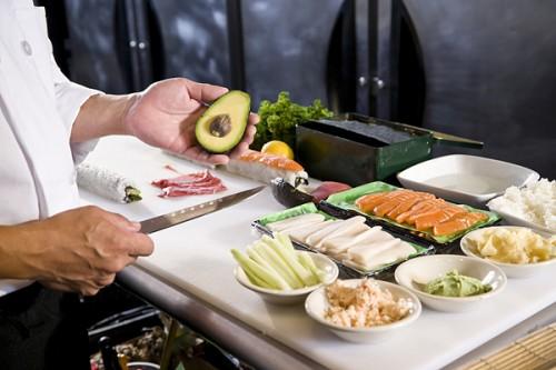 Составляющие суши