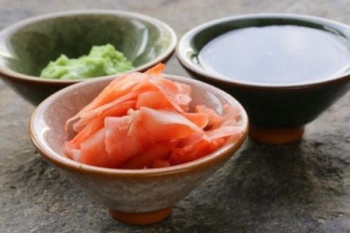суши васаби имбирь