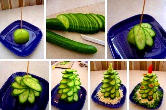 Как сделать украшения из овощей фруктов своими руками
