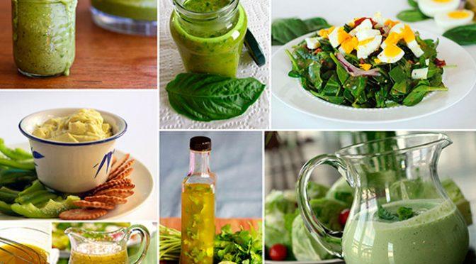 соусы и заправки к салатам