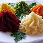 Детское меню: Пюре картофельное разноцветное