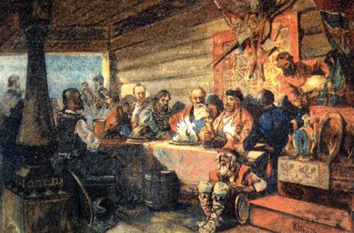 русская кухня история